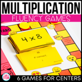 Multiplication Games 3rd Grade Math Centers