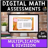 Multiplication and Division   Google Forms Math Assessments