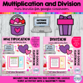 Multiplication and Division Google™ Slides | Valentines Games