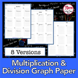 Multiplication and Division Graph Paper