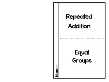 Multiplication and Division Graphic Organizers