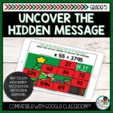 Multiplication and Division | Holiday Math Missing Number