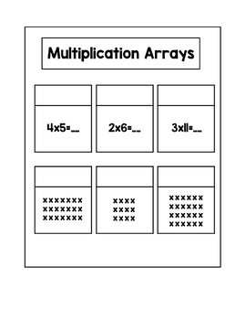 Multiplication and Division Interactive Notebook Inserts