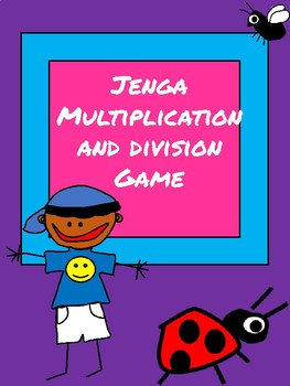 Multiplication and Division Jenga Game