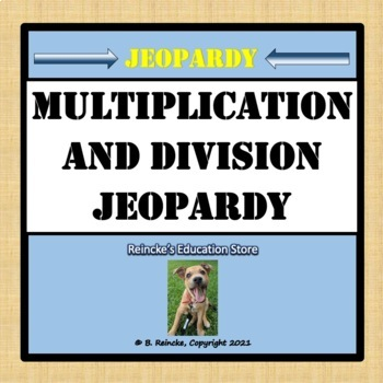 Multiplication and Division Jeopardy