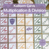 Multiplication and Division | KaBoom Cards