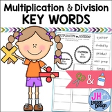 Multiplication and Division Key Words: Cut and Paste