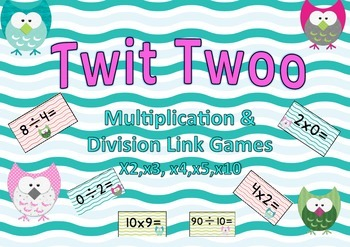 Multiplication and Division Link Games