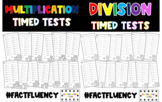 Multiplication and Division Master - Fact Fluency - Timed