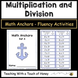 Multiplication and Division Worksheets - Basic Facts