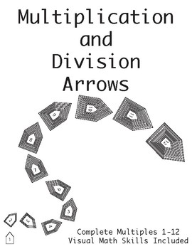 Multiplication and Division Math Arrows