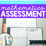 Multiplication and Division Math Assessment   Digital + Printable Probes