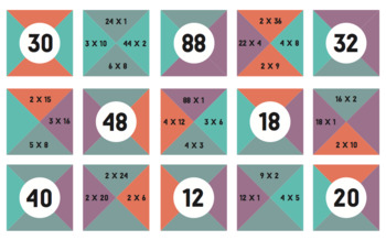 Multiplication and Division Math Bundle