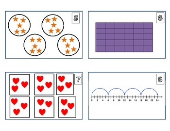 Multiplication and Division Math Center