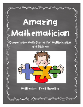 Multiplication and Division Math Centres