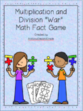 Multiplication and Division Math Fact War