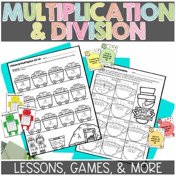 Multiplication and Division Exploration Unit for Math Workshop