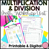 Multiplication and Division Activities   Worksheets   Lessons   Guided Math Unit