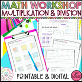 Multiplication and Division Activities   Worksheets   Less