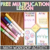 FREE Multiplication and Division Unit Sampler for Math Workshop