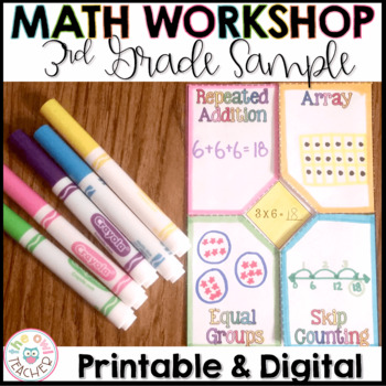 FREE Multiplication and Division Unit Sampler for Math Workshop