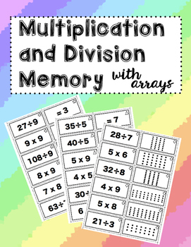 Multiplication and Division Memory (with Arrays)