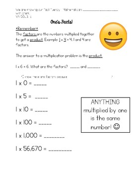 Multiplication and Division Guided Practice/MiniLessons!
