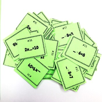 Multiplication and Division Missing Factors Summer Game