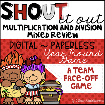 Multiplication and Division Facts Mixed Review (Year Round Edition)