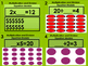 Multiplication and Division Model Number Sentence Task Cards