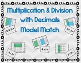 Multiplication and Division Models with Decimals