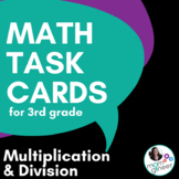 Multiplication and Division Multi-Step Task Cards