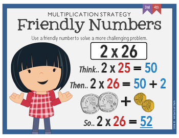 Number Talks Strategies Posters for Multiplication and Division {Grades 3  to 5}