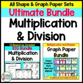 Multiplication and Division Ultimate BUNDLE of Differentiated Worksheets
