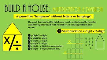 Multiplication and Division PowerPoint Math Game