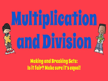 Multiplication and Division PowerPoint Presentation