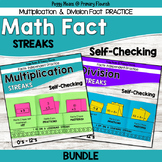 Multiplication and Division Practice Booklets