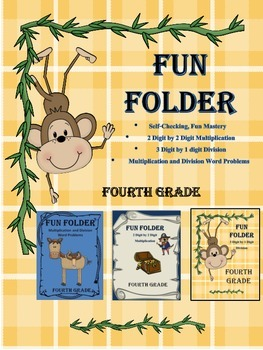 Multiplication and Division Practice - Fun Folders