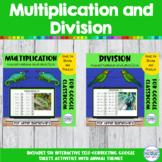 Multiplication and Division Practice   Mini BUNDLE