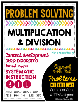 Multiplication and Division Problem of the Day by Marvel Math