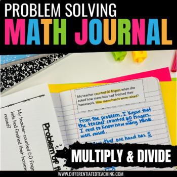 Multiplication & Division Problem Solving for Math Journals