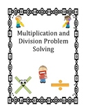 Multiplication and Division Problem Solving Cards