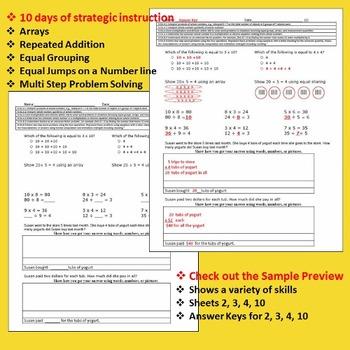 Multiplication Problem Solving  Division Problem Solving