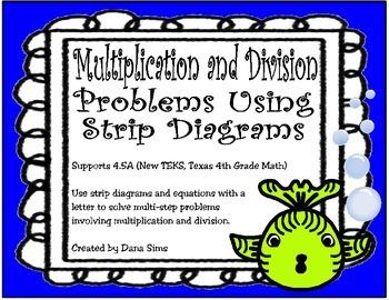 original 1359021 1 multiplication and division problems using strip diagrams (teks 4 5a)