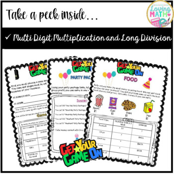 Multiplication and Division Project Based Learning (PBL) and Enrichment