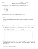 Multiplication and Division Quiz #3