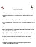 Multiplication and Division Quiz/Worksheet