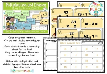Multiplication and Division Read the Room