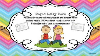Multiplication and Division Relay