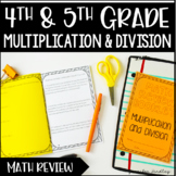 Multiplication and Division Review